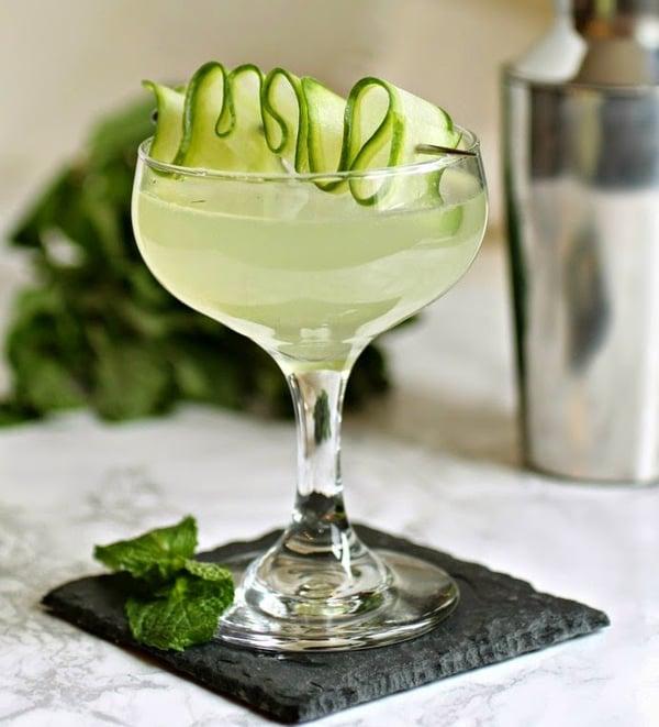 Cucumber & Mint Martini