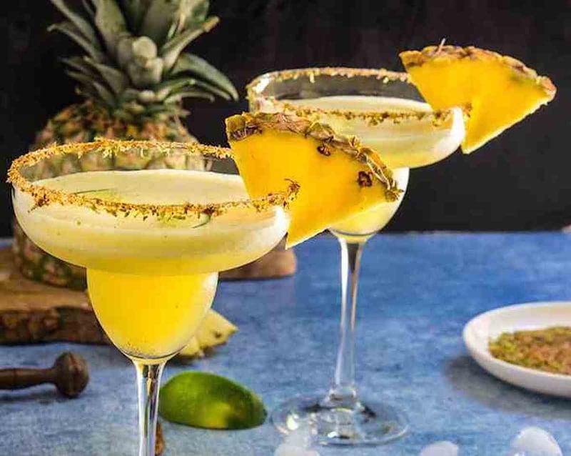 Pineapple & Cardamom Margarita