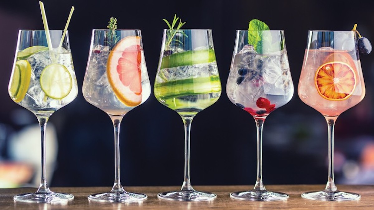 Future Gin Cocktails