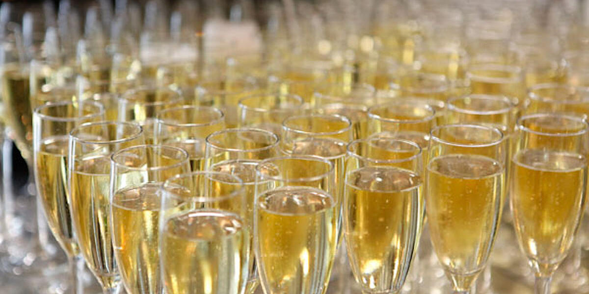 Champagne-Reception