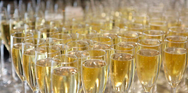 Champagne-Reception