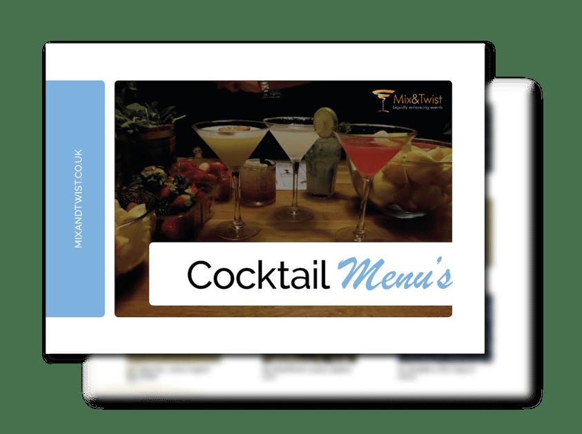 MT - Cocktail Menu Cover