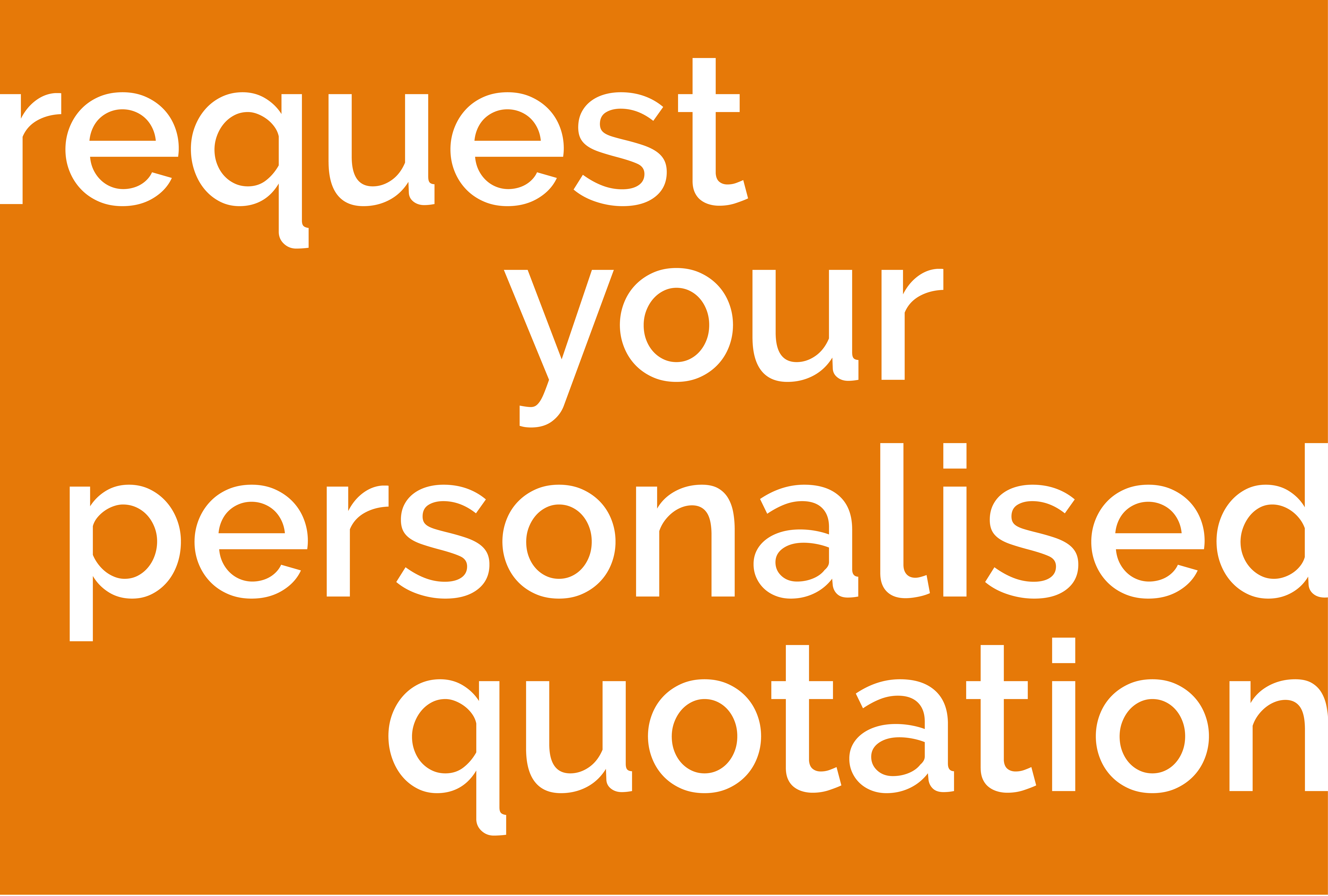 MT - Personalised Quotation - Flat Graphic