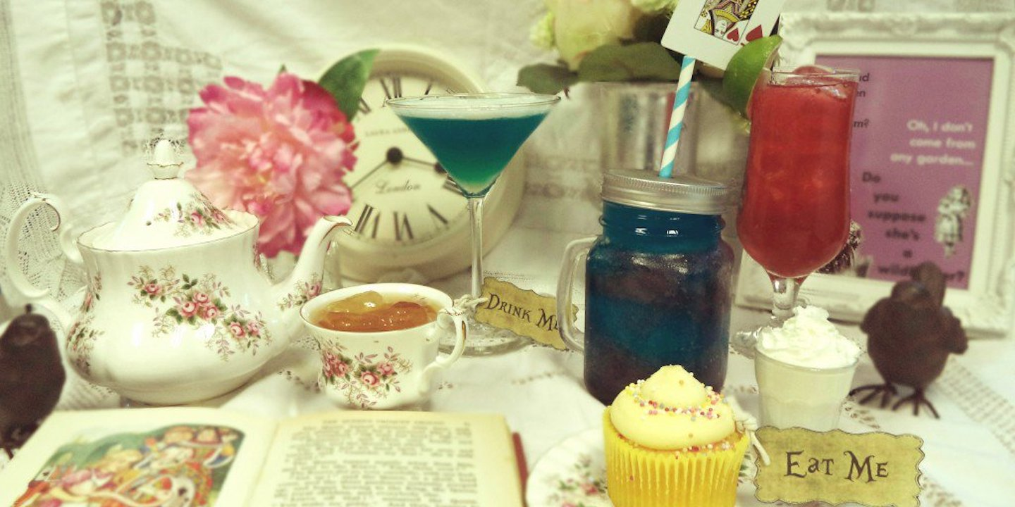 Mad Hatters Party Blog Header