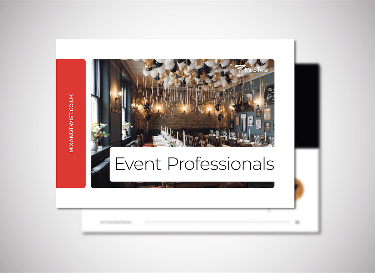 Mix & Twist Covers Event Professionals