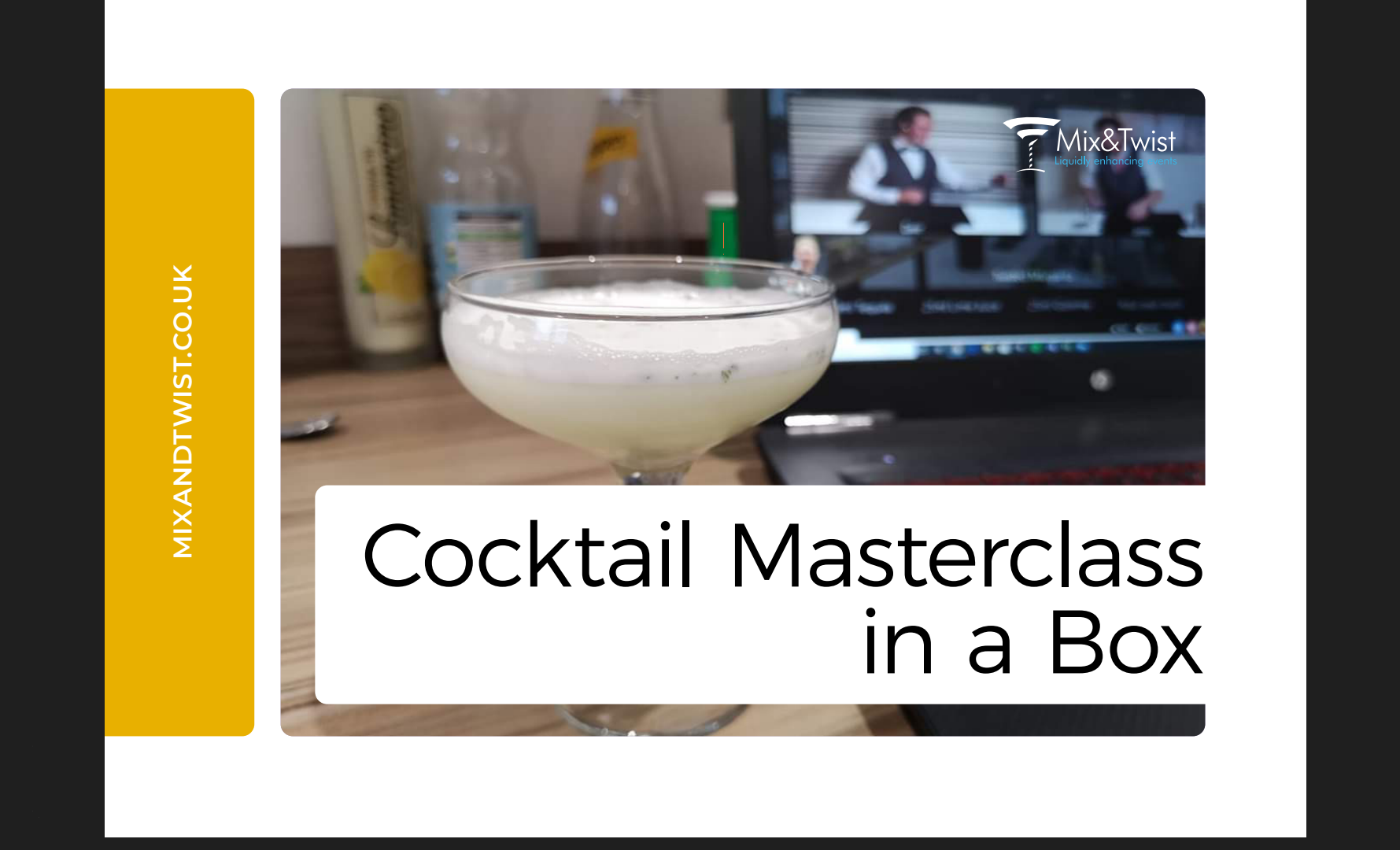 Virtual Cocktail Masterclass