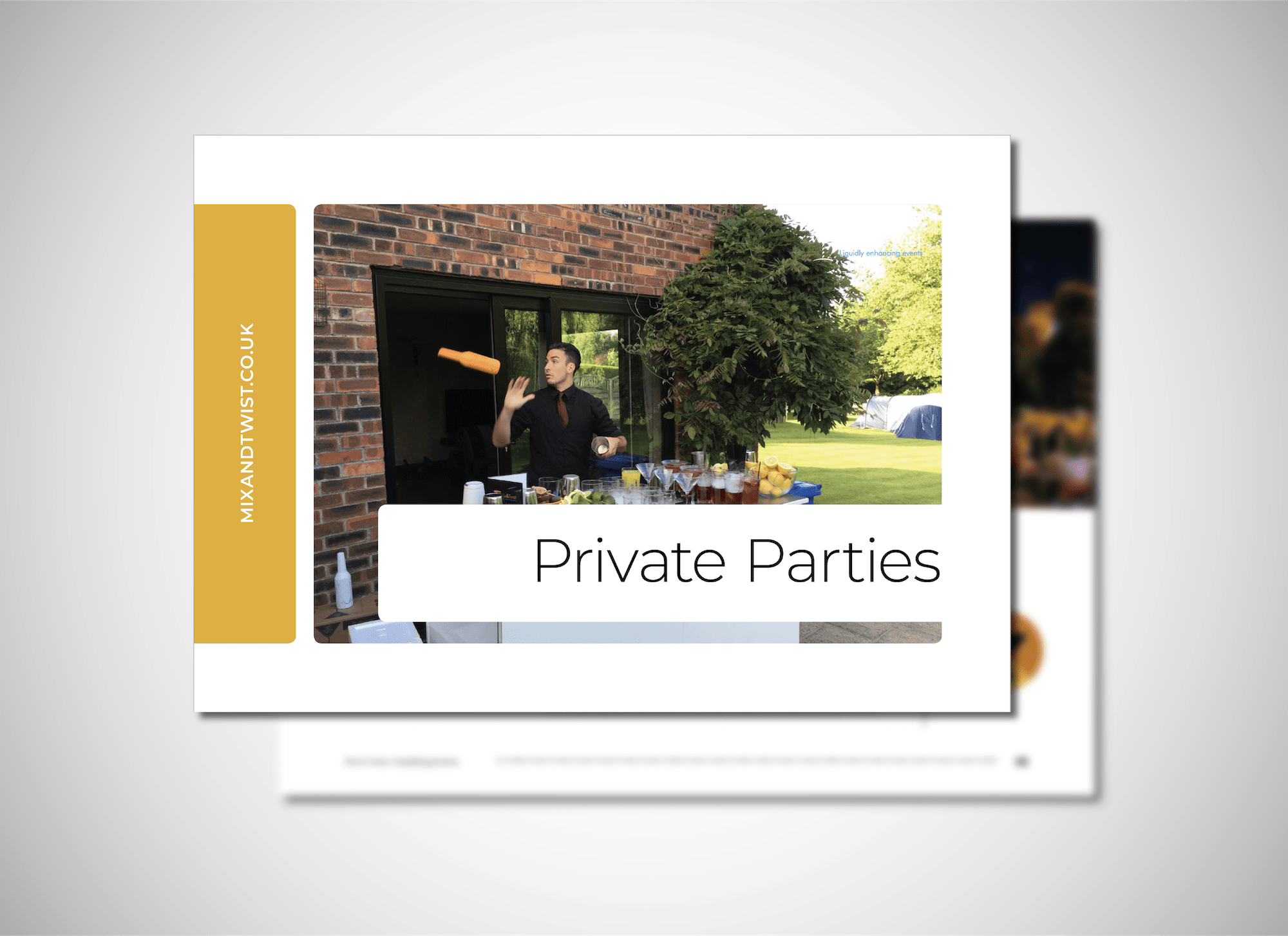 Mix & Twist Home Page Covers_Private Parties